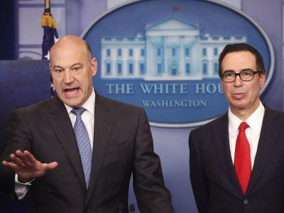 The Goldman guys in the White House are being exactly what America feared they'd be