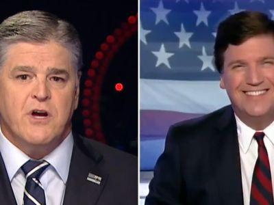 Sean Hannity and Tucker Carlson Will Be First to Interview Trump After Putin Summit