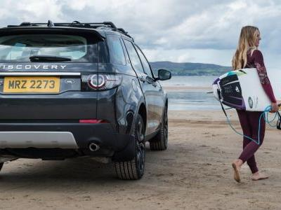 Jaguar-Land Rover Creates Surfboard From Its Clay Design Models