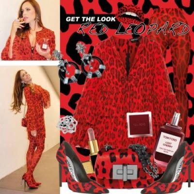 My Look: Red Leopard