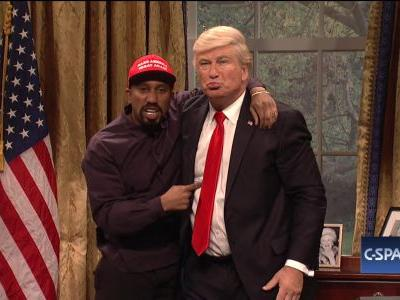 'SNL's Parody of Kanye's Meeting With Trump Feels Like Real Life