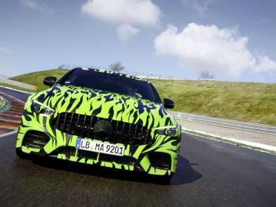 "Mercedes-AMG GT Coupé Teased With Revealing ""Black and Lime Green Fire Wrap"""