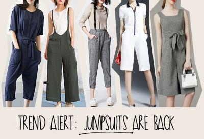 Winter 2017 Trend: Jumpsuits Are Back!