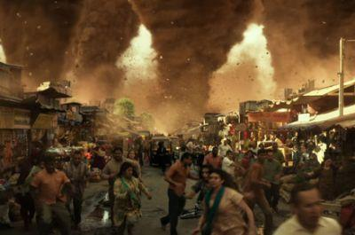 The sky is falling in the first trailer for the disaster-fueled 'Geostorm'