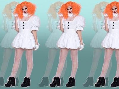 You can now buy a sexy Pennywise costume - but you won't want to wear it down any sewers