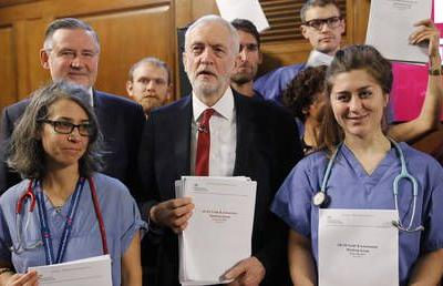 Corbyn rejects 'nonsense' claims Russia behind controversial UK-US leaked NHS dossier