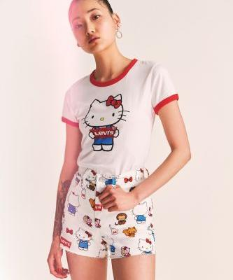 The New Levi's x Hello Kitty Collab Is Too Damn Cute for Words