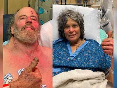 A couple in their 70s got lost during a Valentine's Day hike. They were found alive 8 days later