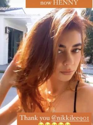 Sarah Hyland Dyed Her Hair 'Fiery Red Copper' for Her Birthday & Holy S*&