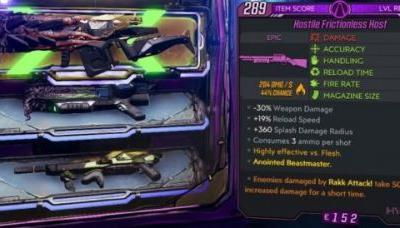 Borderlands 3: how to farm Anointed and Legendary weapons