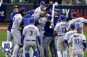 Watch the best 60 seconds from Brewers vs. Dodgers NLCS Game 7 | October60