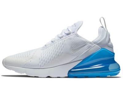 """Nike's Air Max 270 Will Take on A """"White/Photo Blue"""" Makeover"""