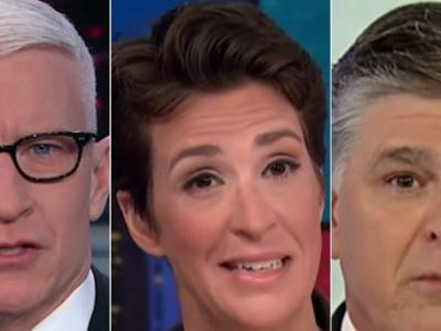 How Anderson Cooper, Rachel Maddow, and Sean Hannity opened their shows for a week perfectly illustrates how Americans see the news differently