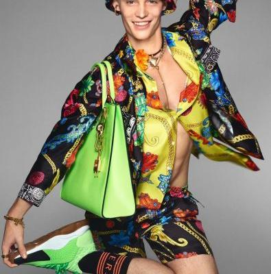 Versace Delivers Fun Fashions & Bold Attitude for Spring '19 Campaign