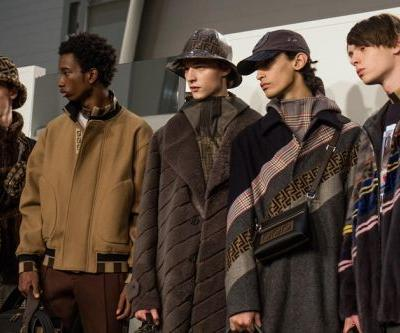Come fly with me - Fendi creates fake airport for AW18 menswear show