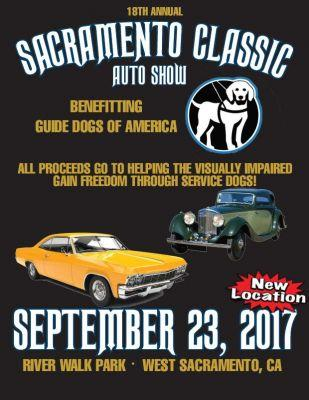 18th Annual Sacramento Classic Car Show and benefit for Guide Dogs of America
