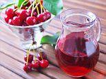 Drinking tart cherry juice for just five days boosts a person's gut health due to its antioxidants