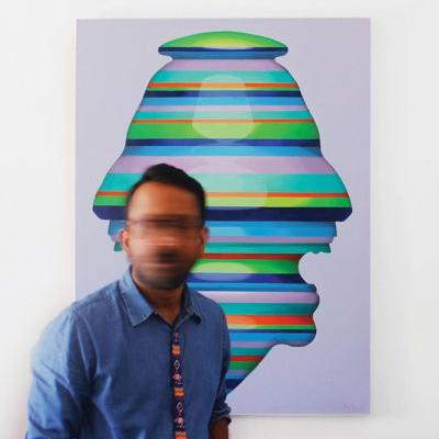 Kos Cos Depicts The Canvas of Our Every Emotion Through Dynamic Portraits