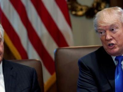 Trump says he fired Tillerson due to a disagreement over the Iran deal
