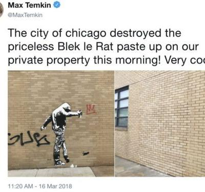 Chicago's attempt to impress Amazon backfired after it destroyed a 'priceless' graffiti artwork in HQ2 bid clean-up