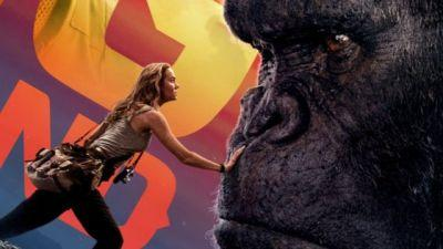 Get Close to the King in a New Kong: Skull Island Banner