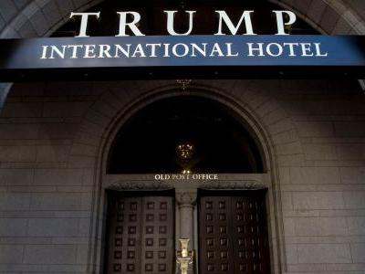 Trump's hotel in Washington DC is serving a $169 cocktail - but there's a catch