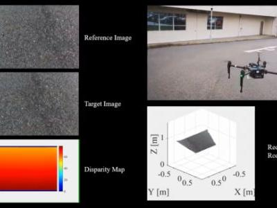 Researchers use drones to detect potholes, cracks, and other road damage