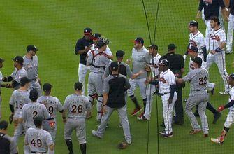 Benches clear after Jose Urena drills Ronald Acuna Jr