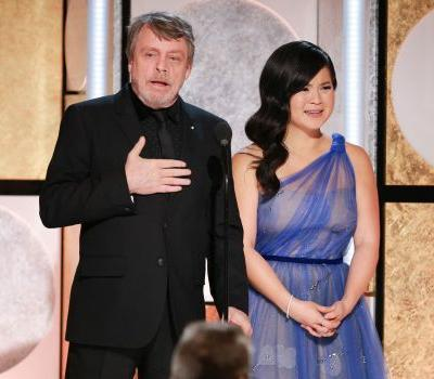 Mark Hamill defends fellow 'Star Wars' actress Kelly Marie Tran after she was cyberbullied