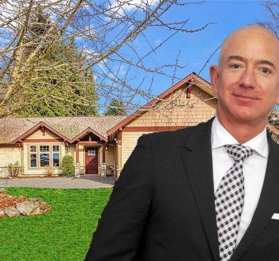 See inside the modest Bellevue, Washington, house Jeff Bezos was renting when he started Amazon, now on the market for $1.5 million