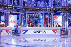 Trump turned the midterm election into a big show for network news