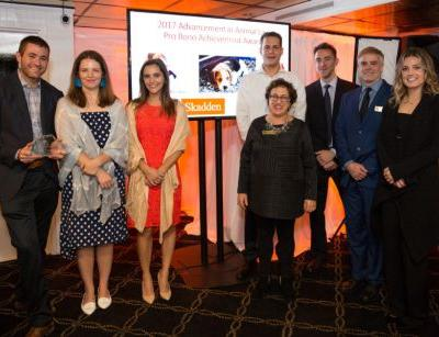 Celebrating the 2017 Advancement in Animal Law Pro Bono Achievement Award Winners