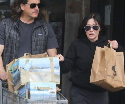 Shannen Doherty steps out after revealing cancer diagnosis and more star snaps