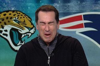 Rob Riggle talks Tom Brady and has a surprisingly emotional response to Blake Bortles' success