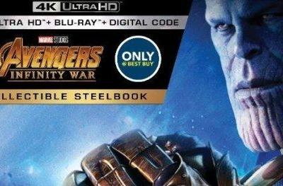 Infinity War Blu-ray Steelbook Already Available for