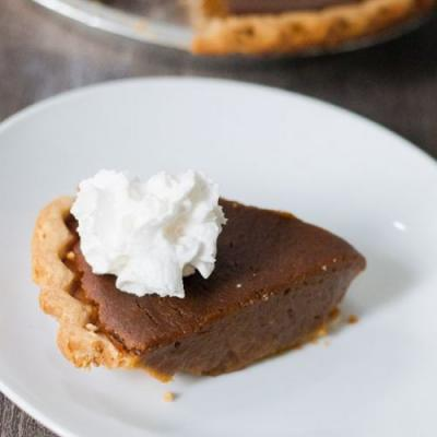 Ridiculously Easy Vegan Pumpkin Pie