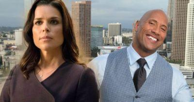 Neve Campbell Teams with The Rock in SkyscraperNeve Campbell has