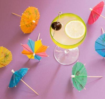 These Tropical Cocktails Will Transport You to the Beach Anytime of Year