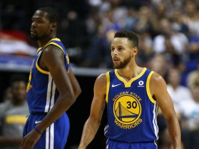 Steph Curry, Kevin Durant both ejected in final minute of loss to Grizzlies