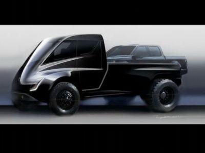 This Tesla Pickup Truck Concept Looks Ridiculous