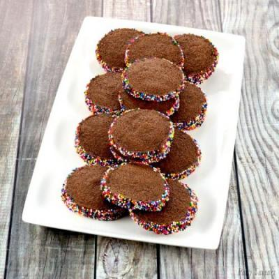 Chocolate Butter Cookies Recipe