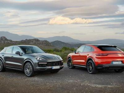 Here is another video of the Porsche Cayenne Coupe