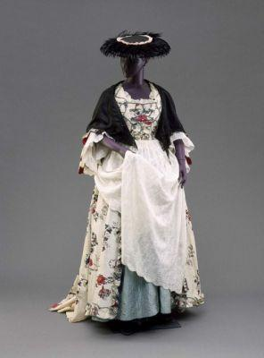 Dress1775-1790Nantes, FranceMuseum of Fine Arts, Boston
