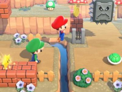 Animal Crossing + Mario | How to get Mario items in New Horizons