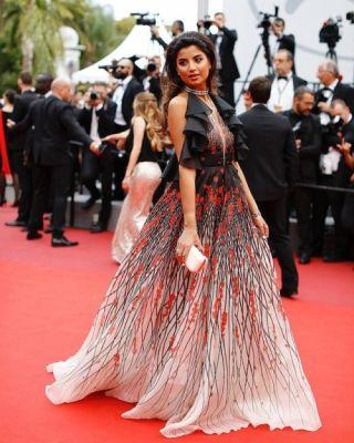 Ola Farhat was sensational in GEORGES HOBEIKA for the premiere
