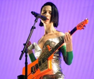 """Watch St. Vincent's Backstage Cover Of Pearl Jam's """"Tremor Christ"""""""