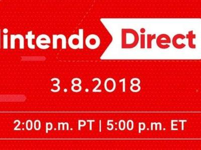 Nintendo Direct Coming Tomorrow for Switch and 3DS Games