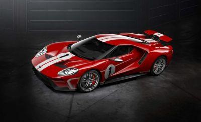 Ford GT Heritage Edition Celebrates '67 Le Mans Victory
