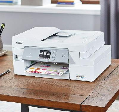 This all-in-one printer is fast, efficient, and has ink cartridges that will last a whole year
