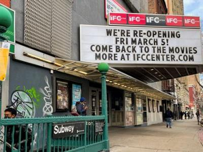 The Movie Industry Holds Its Breath As New York Reopens Theaters